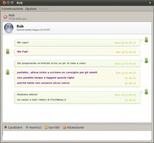 Conversazione di Pidgin in stile Renkoo