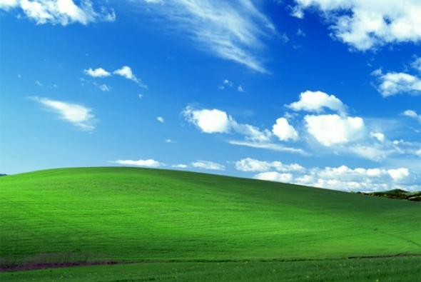 Windows XP - sfondo Bliss