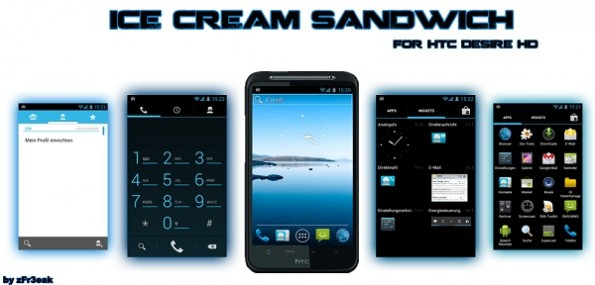 HTC Desire HD, Android 4.0 Ice Cream Sandwich in dirittura ...