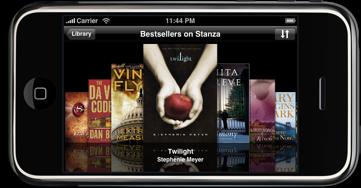 eBooks on iPhone