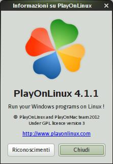 PlayOnLinux 4.1.1