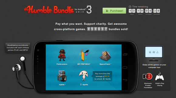 Humble Bundle 3 per Android