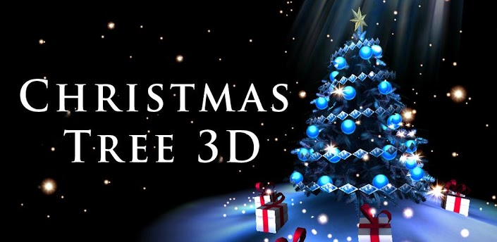Xmas 2012 christmas tree 3d altro bellissimo live for Sfondi natale 3d