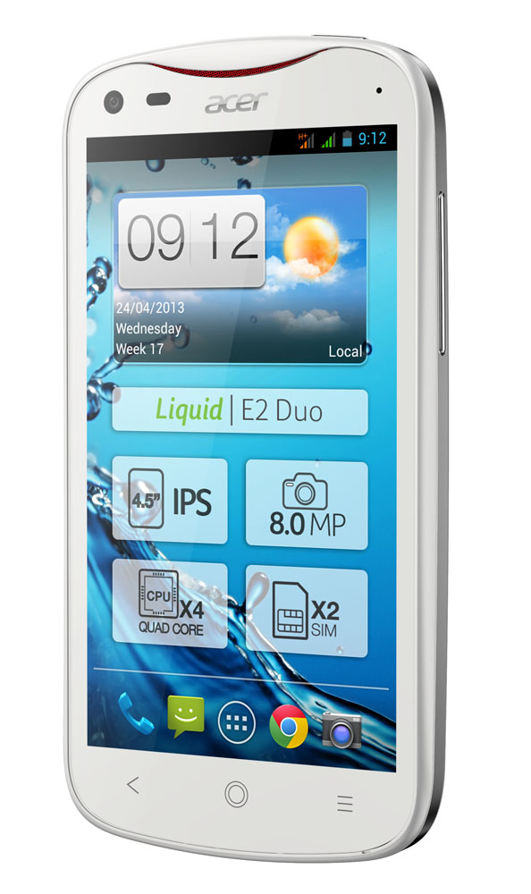 Acer_Liquid_E2_Duo_Pearl_White_Front_Angle
