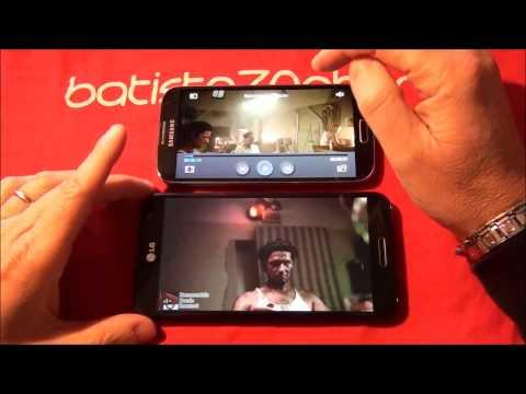 LG Optimus G Pro a confronto con Galaxy S4 e BlackBerry Z10