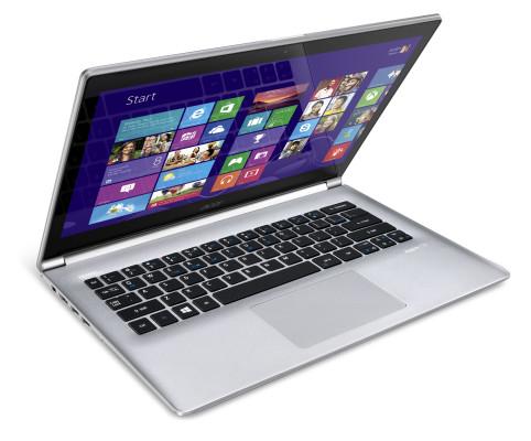 Acer Aspire S3-392- side