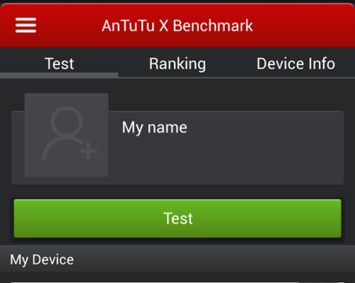 antutu benchmark x