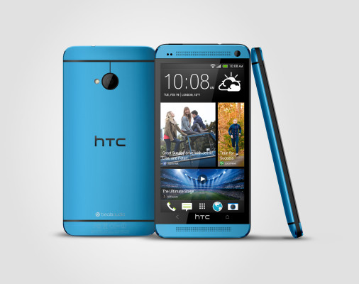 HTC One blue 3V Source Render