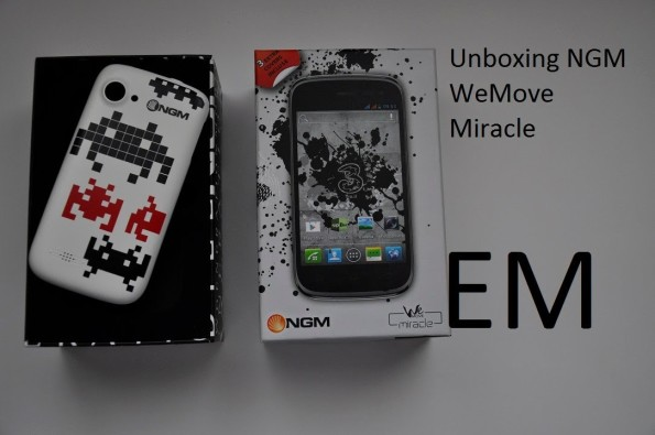 NGM miracle unboxing