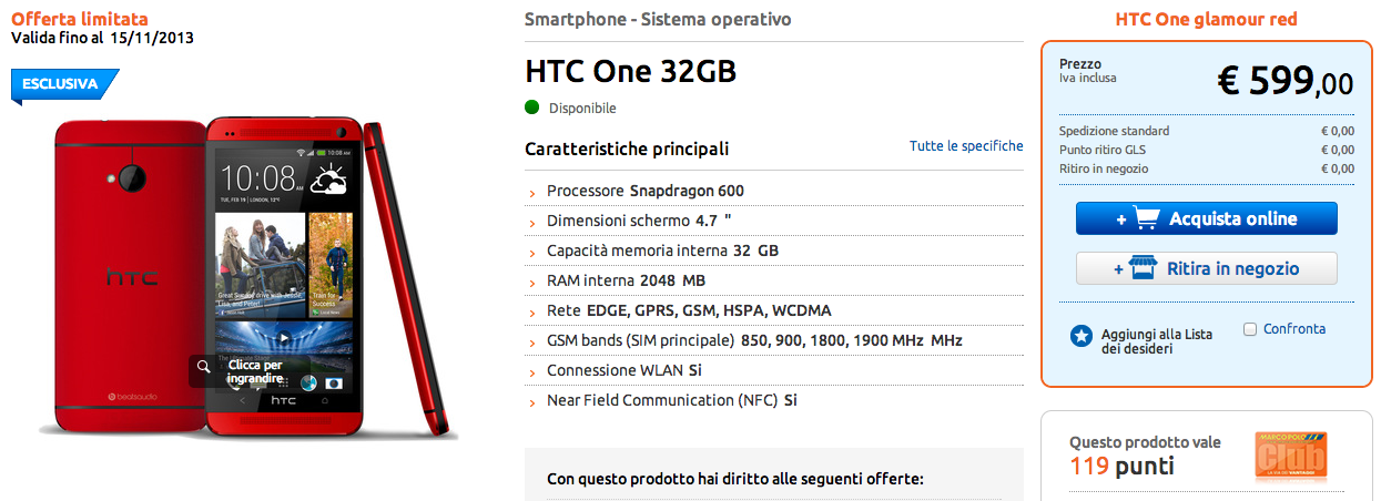 htc one red marcopolo