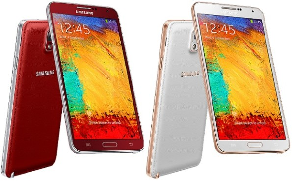 Samsung-Galaxy-Note-3-Red-e-Rose-Gold
