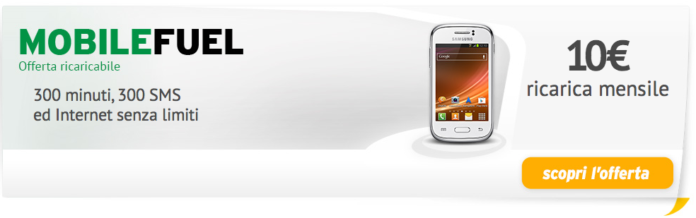 fastweb mobilefuel
