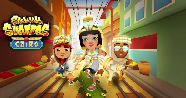 Subway Surfers - World Tour - Cairo Wallpaper