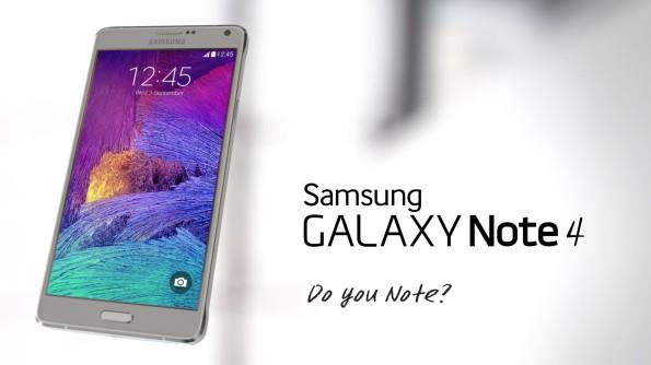 IFA 2014: Samsung Galaxy Note 4 presentato ufficialmente