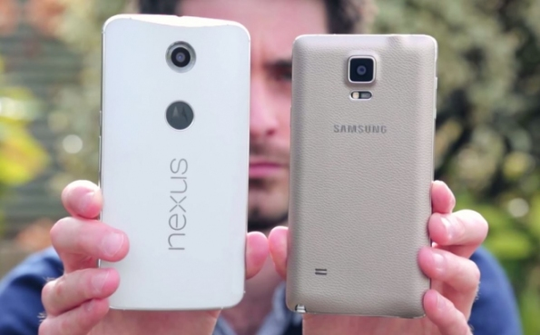 note4 vs nexus6