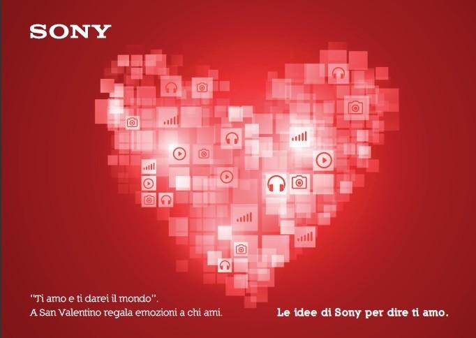 Le proposte di Sony per San Valentino