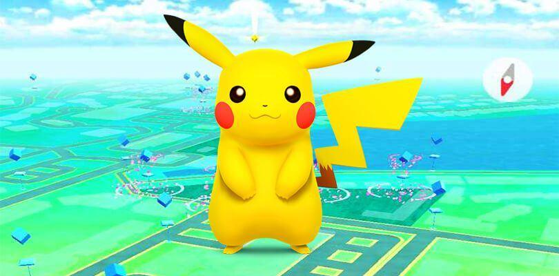 Pikachu-Pokémon-GO