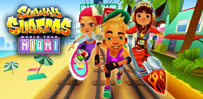 subway surf truccato